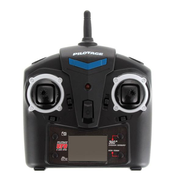 Купить Радиоуправляемый квадрокоптер Pilotage RC15771 6 Axis UFO с камерой недорого  Москва, Екатеринбург, Уфа, Новосибирск