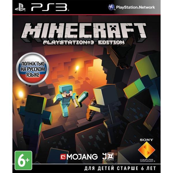 Игра для PS3 Медиа Minecraft