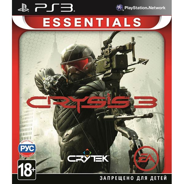 ���� ��� PS3 ����� Crysis 3 Essentials
