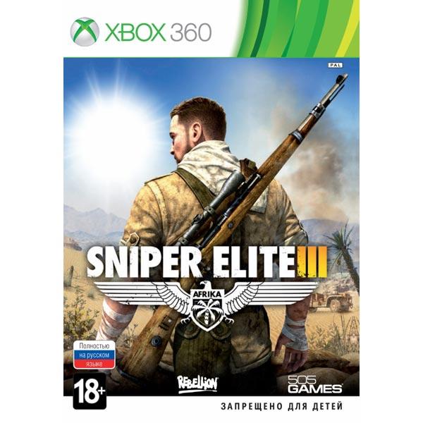 Игра для Xbox Медиа Sniper Elite 3