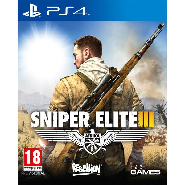 Видеоигра для PS4 Медиа Sniper Elite 3 shivaki ssh i097be srh i097be