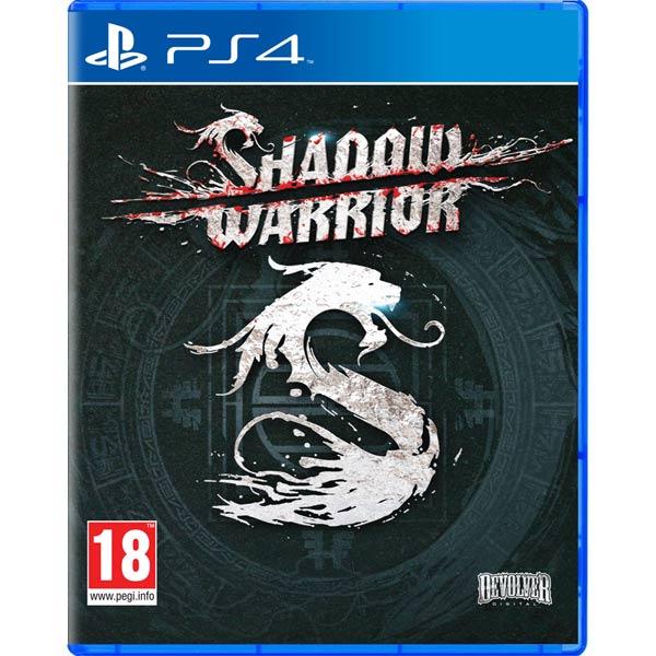 Видеоигра для PS4 МедиаИгры для PlayStation 4 (PS4)<br>Тип издания: стандартное,<br>Экшн: Да,<br>Возрастное ограничение: 18+,<br>Платформа: PlayStation 4,<br>Версия издания: коробочная,<br>Издатель: Devolver Digital???????????: Flying Wild Hog,<br>Серия: Shadow Warrior,<br>Срок действия: бессрочный,<br>Язык: английский,<br>Основной продукт: Shadow Warrior<br>