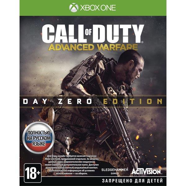 Видеоигра для Xbox One Медиа Call of Duty: Advanced Warfare. Day Zero Edition