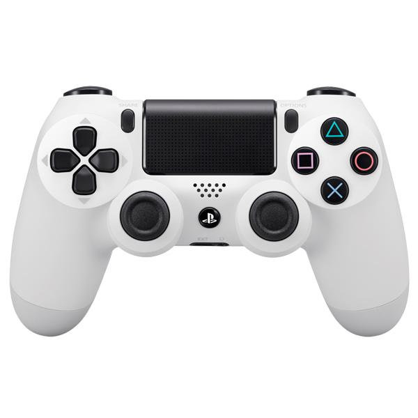 Аксессуар для игровой консоли PlayStation 4 Геймпад DualShock 4 Whte (CUH-ZCT1E)