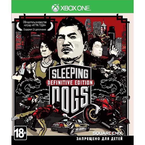 Видеоигра для Xbox One Медиа Sleeping Dogs Definitive Edition