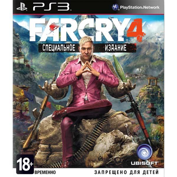 Игра для PS3 Медиа Far Cry 4. Специальное издание