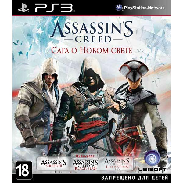 Игра для PS3 Медиа Assassin's Creed. Сага о Новом Свете