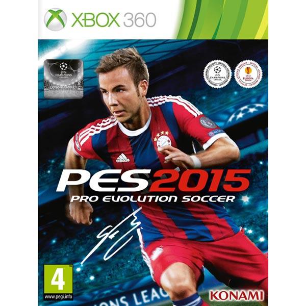 Игра для Xbox Медиа Pro Evolution Soccer 2015
