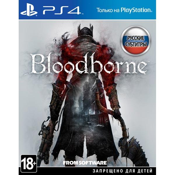 Видеоигра для PS4 Медиа Bloodborne: Порождение крови