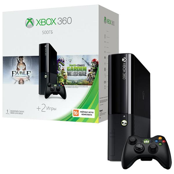 Игровая приставка Xbox 360 Microsoft