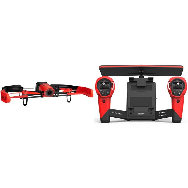 Радиоуправляемый квадрокоптер Parrot Bebop Drone & Skycontroller Red Area 1
