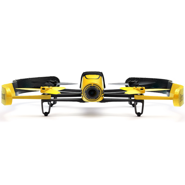 Радиоуправляемый квадрокоптер Parrot Bebop Drone Yellow Area 3