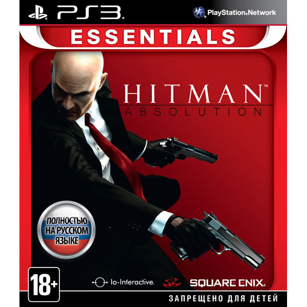 Игра для PS3 Медиа Hitman Absolution Essentials
