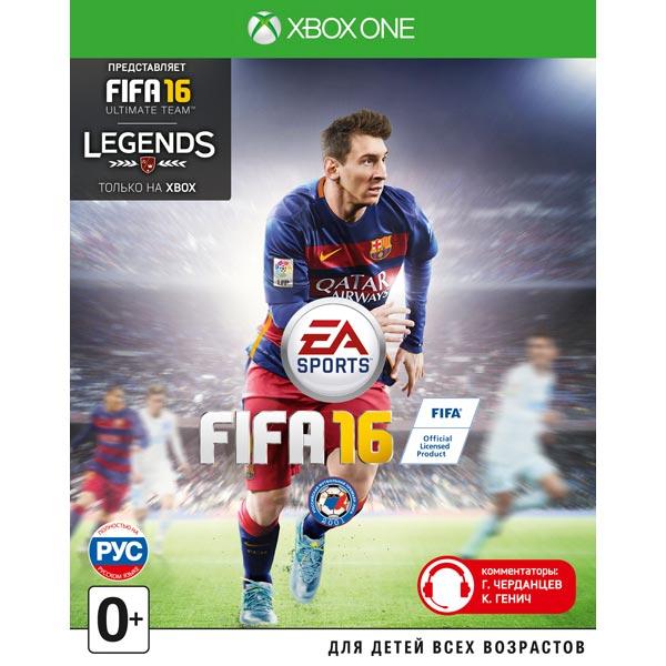 Видеоигра для Xbox One Медиа FIFA 16