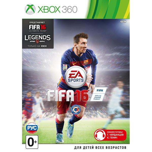 Игра для Xbox Медиа FIFA 16