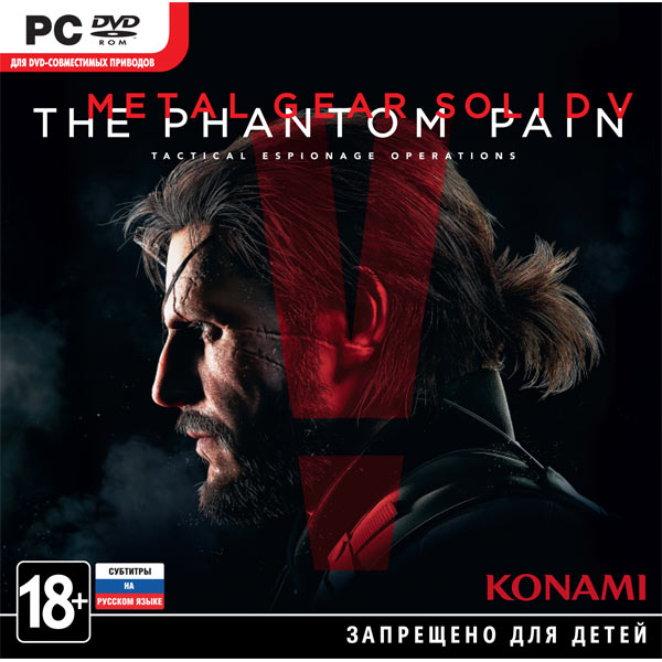 Игра для PC Медиа Metal Gear Solid V: The Phantom Pain