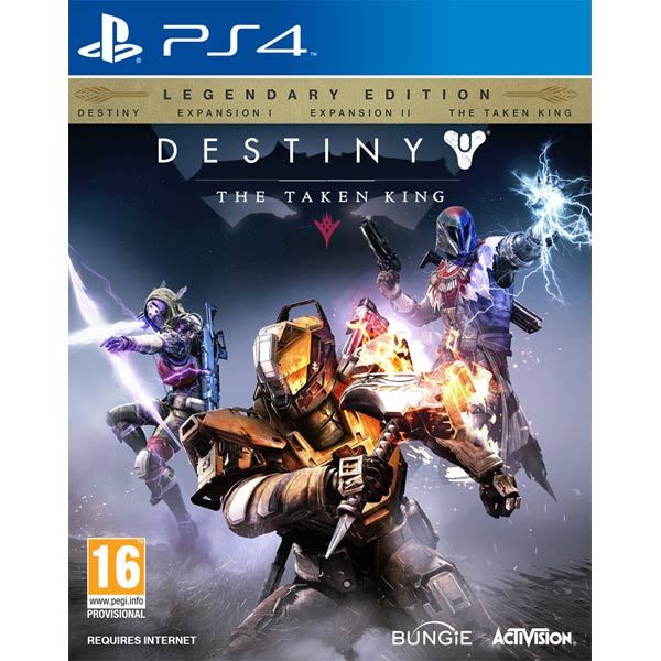 Видеоигра для PS4 . Destiny: The Taken King