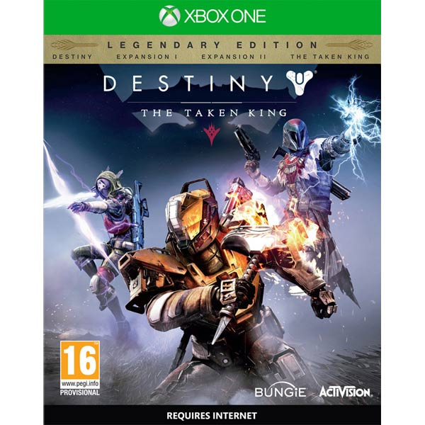 Видеоигра для Xbox One Медиа Destiny: The Taken King. Legendary Edition