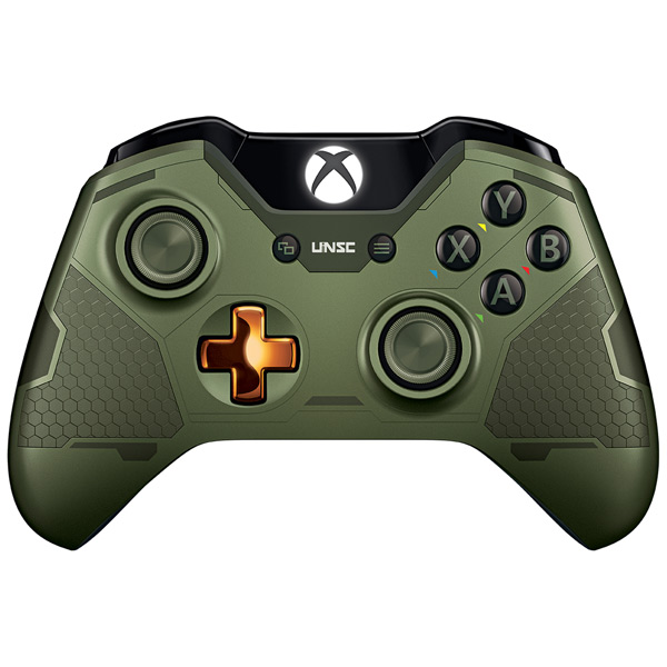 Аксессуар для игровой консоли Microsoft Wireless Gamepad Halo 5 Guardians Master Chief