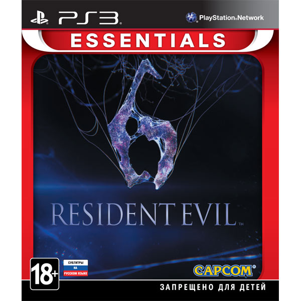 Игра для PS3 Медиа Resident Evil 6 Essentials