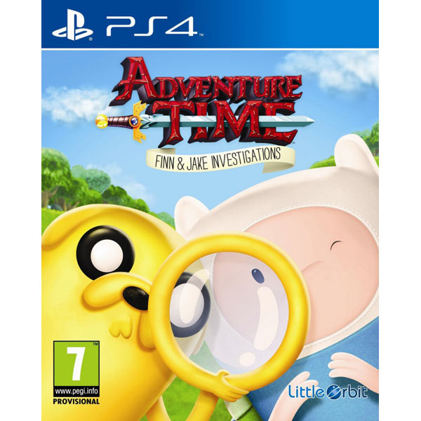 Видеоигра для PS4 Медиа Adventure Time: Finn and Jake Investigations