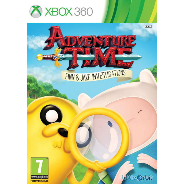 Игра для Xbox Медиа Adventure Time: Finn and Jake Investigations