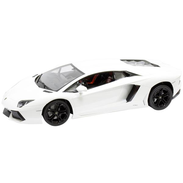 Радиоуправляемая машина 1toy Top Gear Lamborghini 700 1:14 белая (Т56681)