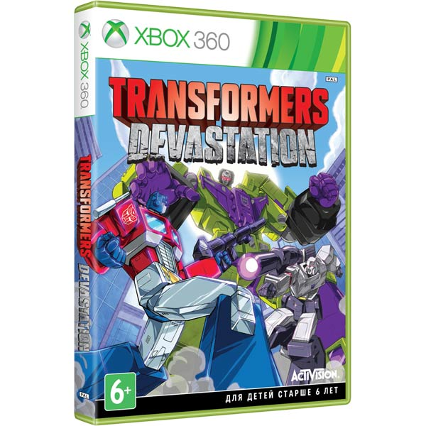 Игра для Xbox Медиа Transformers:Devastation