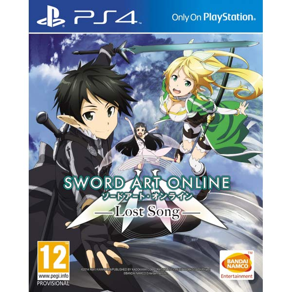 Видеоигра для PS4 Медиа Sword Art Online:Lost Song