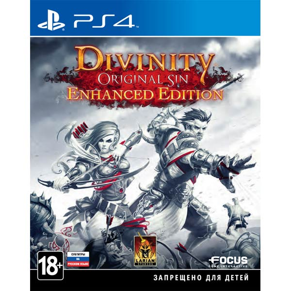 Видеоигра для PS4 Медиа Divinity. Original Sin: Enhanced Edition