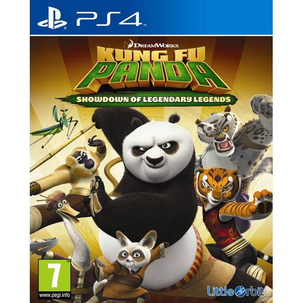 Видеоигра для PS4 Медиа Кунг-Фу Панда:Решающий Поединок Легендарн.Героев