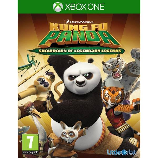 Видеоигра для Xbox One Медиа Кунг-Фу Панда:Решающий Поединок Легендарн.Героев