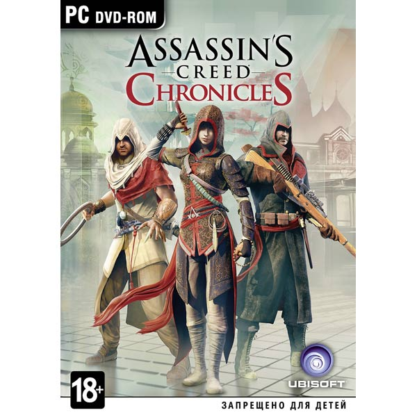 CD-ROM As.Creed Chronicles Медиа