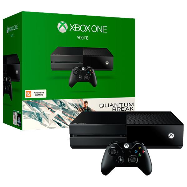 Игровая консоль Xbox One MicrosoftКонсоль XBOX ONE<br>Серия: Xbox One,<br>Цвет: черный,<br>Подключение к сети Интернет: Да,<br>Поддержка Wi-Fi: Да,<br>Игра 1: Quantum Break,<br>Страна: КНР,<br>Игра 2: Alan Wake,<br>Карта доступа Xbox Live Gold: 14 дней,<br>Камера-сенсор Kinect 2.0: доп. опция,<br>Поддержка 4K разрешения: Да,<br>Кабель для цифр.подкл. (HDMI): в комплекте,<br>Проводная гарнитура: доп.опция,<br>Microsoft: Да,<br>Жесткий диск (HDD): 500 ГБ,<br>Порт USB 3.0 тип A: 3,<br>Вид гарантии: по чеку,<br>Тип носителя информации: Blu-Ray/ DVD,<br>Беспроводной геймпад: Да,<br>Вес: 3.2 кг<br><br>Вес кг: 3.2<br>Цвет : черный