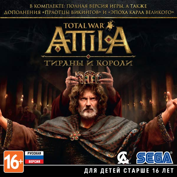 Игра для PC Медиа Total War: Attila. Тираны и короли