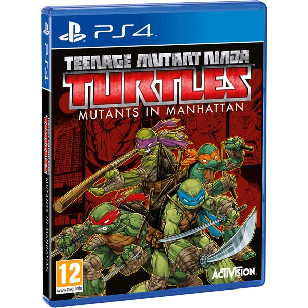цены  Видеоигра для PS4 Медиа Teenage Mutant Ninja Turtles Mutants in Manhattan