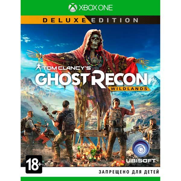 Видеоигра для Xbox One . Tom Clancy's Ghost Recon Wildlands Deluxe Edition