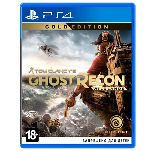 Видеоигра для PS4 . Tom Clancy's Ghost Recon Wildlands Gold Edition