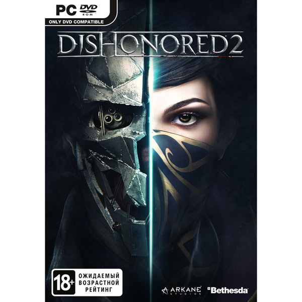 CD-ROM Dishonored 2 Медиа