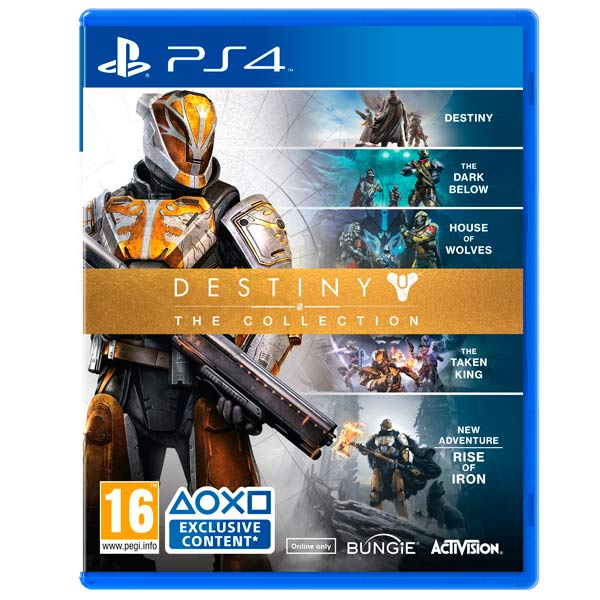 Видеоигра для PS4 Медиа Destiny: The Collection
