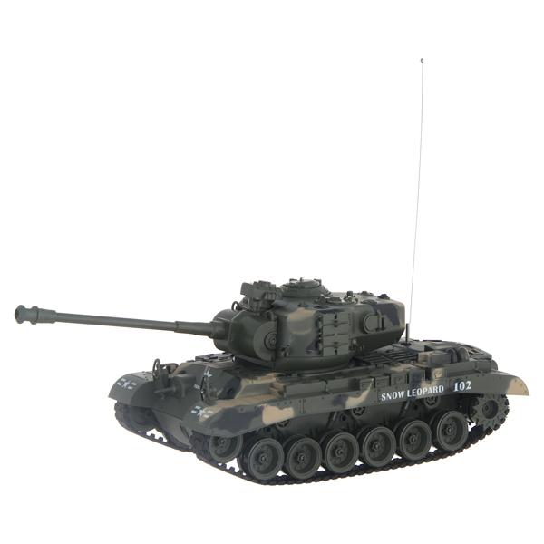 Радиоуправляемый танк Pilotage M26 1:18 пневмопушка, камуфляж (RC18397)