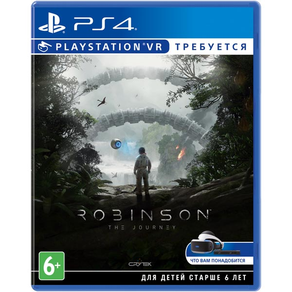 Видеоигра для PS4 . Robinson:The Journey (только для VR) playstation vr worlds только для vr [ps4]
