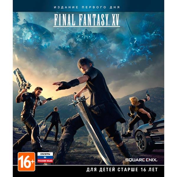 Видеоигра для Xbox One Медиа Final Fantasy XV Day One Edition+A Kings Tale