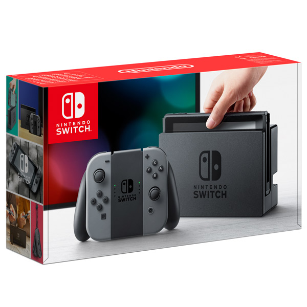 Nintendo, Игровая приставка, Switch (серый)