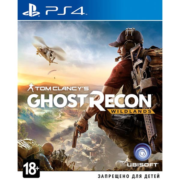 Видеоигра для PS4 . Tom Clancy's Ghost Recon Wildlands
