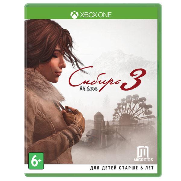 Видеоигра для Xbox One . Сибирь 3 pcdvd сибирь 3 ки медиа pcdvd сибирь 3 ки