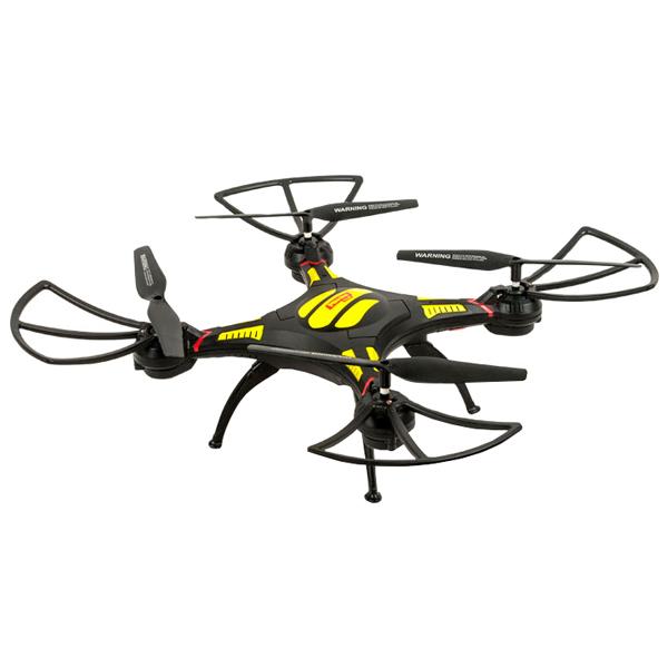 Радиоуправляемый квадрокоптер Mioshi 3D Макси-дрон-27, 27,5 см (MTE1209-025)