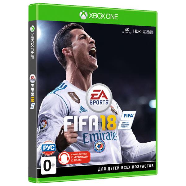 Видеоигра для Xbox One . FIFA 18