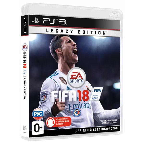 все цены на  Игра для PS3 . FIFA 18  онлайн