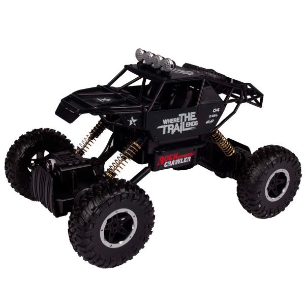 Радиоуправляемая машина Blue Sea Metal Rock crawler, 1:14, 4WD черный